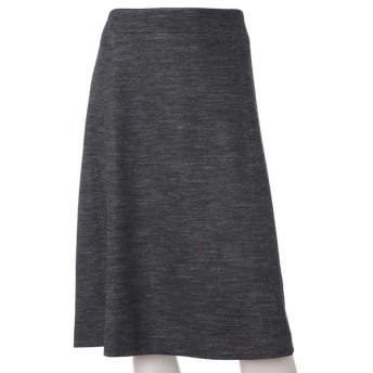 INED L / イネド(エルサイズ) 《大きいサイズ》ストレッチフレアスカート