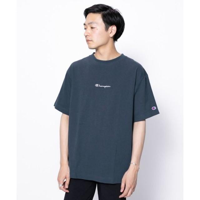 SENSE OF PLACE by URBAN RESEARCH / センスオブプレイス バイ アーバンリサーチ 【別注】Champion ロゴTシャツ(半袖)