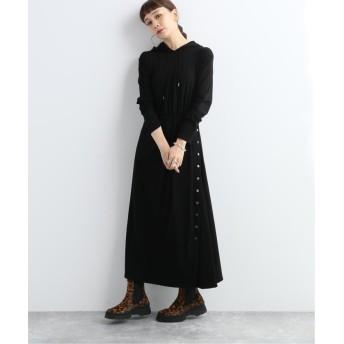 ジャーナルスタンダード PRE LONG COAT DRESS:ワンピース レディース ブラック 38 【JOURNAL STANDARD】
