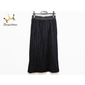 プレインピープル PLAIN PEOPLE ロングスカート サイズ3 L レディース 美品 黒  値下げ 20191130