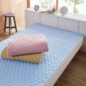 綿フラノ素材の敷きパッド