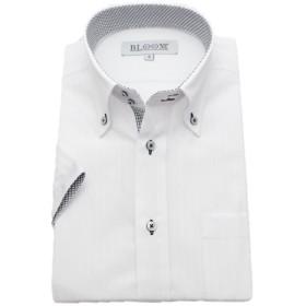 (ブルーム) BLOOM 2018夏 オリジナル 半袖 ワイシャツ クールビズ 形態安定 1 4L