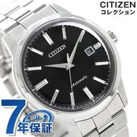 シチズン メカニカル クラシカル 自動巻き メンズ 腕時計 NK0000-95E CITIZEN ブラック 時計