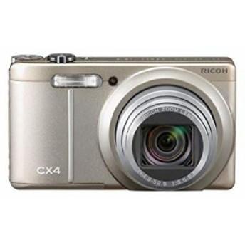 RICOH デジタルカメラ CX4 シャンパンシルバー CX4CH 1000万画素裏面照射CM(中古品)