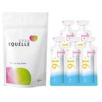 大塚製薬 エクエル パウチ 120粒入り 1袋 + 乳酸菌生成エキスL-16(お試し5包)