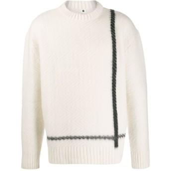 OAMC テクスチャード セーター - ホワイト