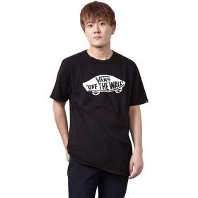 [VANS(バンズ)] Tシャツ メンズ VANS OTW SS Tee 半袖 綿100% ブラック/ホワイト S-XXL【XXL BLK】 [並行輸入品]