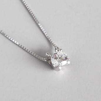 SN-32 silver925&ジルコニア necklace