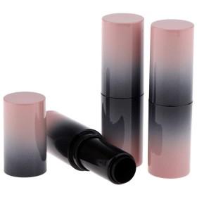口紅 容器 空 リップクリームチューブ 空の口紅チューブ 空のリップグロス容器 空の口紅容器 全6色 - グラデーションカラー