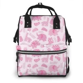 万洋 最新旅行 通勤 個性的 多機能レジャーバッグ リュック マザーズバッグ ベビー用品収納 出産準備 防水盗難防止ポケット シンプル大容量手提げ袋 かわいい -女の子の背景