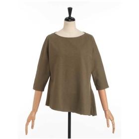 miroir de ensuite バックフリルプルオーバー Tシャツ・カットソー,カーキ