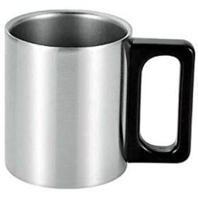 SUS・ga(サス・ガ) ステンレス二重マグカップ230ml(サテン仕上げ) SUS-DB230