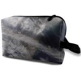 スペース 化粧ポーチ トイレタリーバッグ トラベルポーチ 洗面用具入れ フルメイクセットバッグ 大容量 化粧品収納 出張 海外 旅行グッズ 育児グッズ レディース インナーバッグ