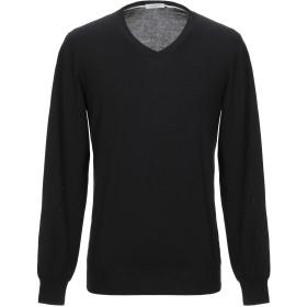 《セール開催中》PAOLO PECORA メンズ プルオーバー ブラック XL コットン 100%