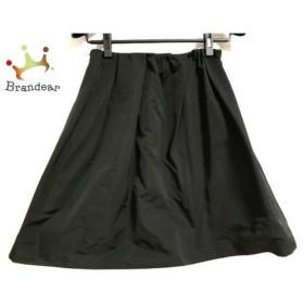 トゥービーシック TO BE CHIC スカート サイズ40 M レディース 美品 黒  値下げ 20191208