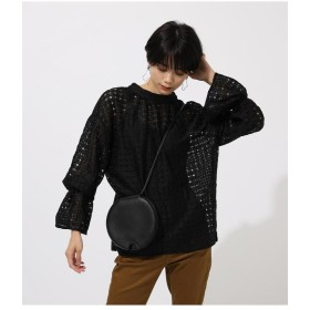 【50%OFF】 アズールバイマウジー 2WAY LACE BLOUSE レディース BLK M 【AZUL BY MOUSSY】 【セール開催中】