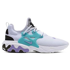 Nike React Presto [AV2605-101] Men Casual Shoes White/Night Maroon/US 9.5