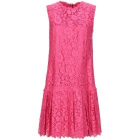 《セール開催中》DOLCE & GABBANA レディース ミニワンピース&ドレス フューシャ 38 コットン 46% / レーヨン 43% / ナイロン 11% / シルク / ポリウレタン