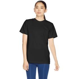 [エムエックスピー] Tシャツ ミディアムドライジャージ ショートスリーブクルー レディース ブラック 日本 L (日本サイズL相当)