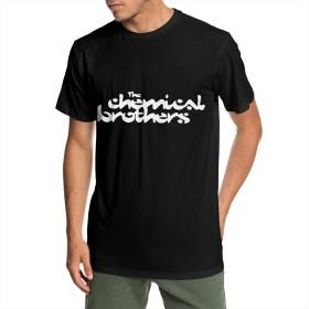 Tシャツ メンズ ショートスリーブ The Chemical Brothers ケミカルブラザーズ 夏服 スポーツ クルーネック T-shirt 少年野球 カジュアル ゆったり 無地 薄手 個性t HIPHOPト 丸襟 シンプル