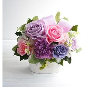 プリンセス 【ピンク×パープル】/プリザーブドフラワー/母の日/父の日