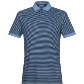 《期間限定セール開催中!》HACKETT メンズ ポロシャツ ブルーグレー S コットン 100%