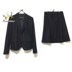 アンタイトル UNTITLED スカートスーツ サイズ2 M レディース ダークネイビー 新着 20190912