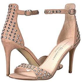 [チャイニーズランドリー] レディースヒール・パンプス・靴 Starshine Dark Nude Microsuede 8 M [並行輸入品]