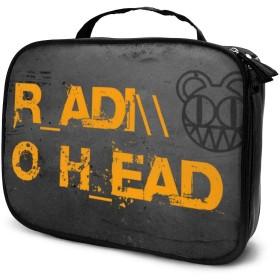 Radiohead 化粧ポーチ 化粧ケース メイクアップケース コスメバッグ メイク 化粧道具 小物入れ おしゃれ 收納抜群 旅行用 収納ケース