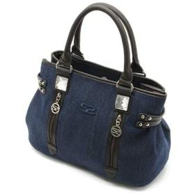 サボイ ハンドバッグ ブルー SM18010201
