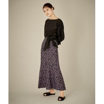 【セットアップ対応商品】フラワープリントスカート