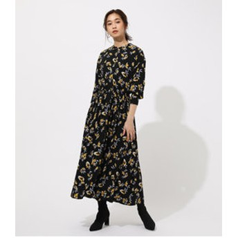 【AZUL by moussy:ワンピース】FLOWER BROWSING ONEPIECE