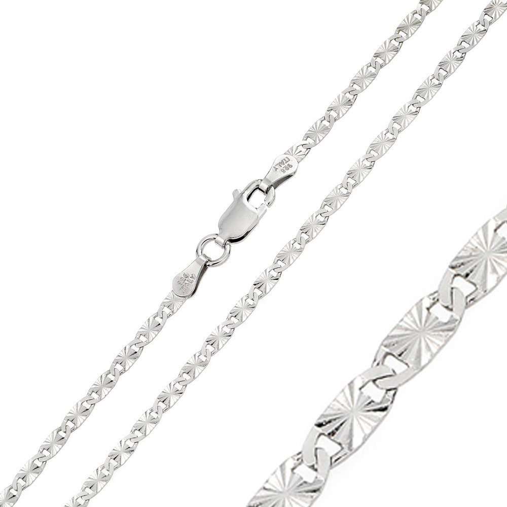 CloseoutWarehouse Sterling Silver Anchor 030 Chain 1.2mm