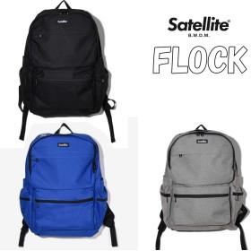 [サテライト] バックパック フロック BACKPACK FLOCK ブラック STB4BKWF3206