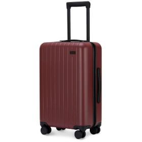 GoPenguin スーツケース, 機内持込 キャリーケース 4輪 静音, ハード PC スーツケース 小型 TSAロック搭載 旅行 出張 用 レッド