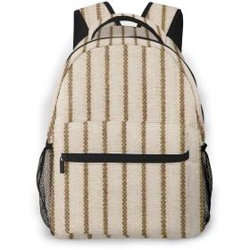 男女兼用のかわいい カジュアルバック パック リュックサック ファッションバッグ 旅行バックパック カレッジバッグ スポーツ ハイキング アウトドア 人気 高校生 中学生 大学生 通学通勤 大容量 -性質は木の広い縞を所有する