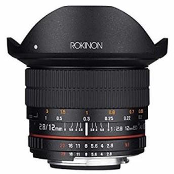 Rokinon 12mm F2.8 超広角魚眼レンズ - フルフレーム互換。 フルサイズ 12M(中古品)