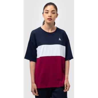 le coq sportif(ルコックスポルティフ) レディーススポーツウェア Tシャツ 半袖シャツ QMWOJA07 RBG レディース RBG