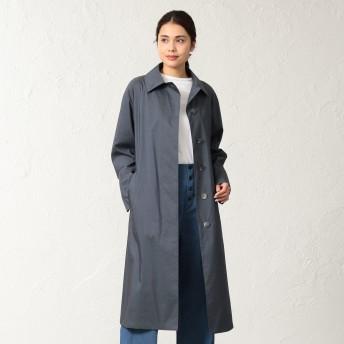 SANYO(サンヨー)/<Spring Coat>先染めシルクコットンベルテッドコート