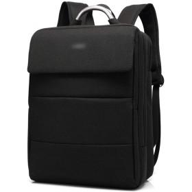 YIYUTING バックパック男性用ビジネスコンピューターバックパック大容量バックパック (色 : 黒, サイズ : 15inch)