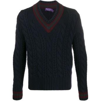 Polo Ralph Lauren ケーブルニット セーター - ブルー