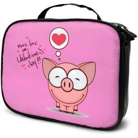 Jarvis SK 豚 化粧ポーチ トイレタリーバッグ トラベルポーチ 洗面用具入れ 大容量 機能的 防水 おしゃれ 出張 海外旅行の時小物 収納