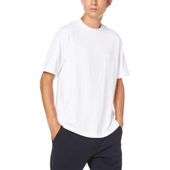 [エムエックスピー] Tシャツ ファインドライ ショートスリーブポケットクルー メンズ ホワイト 日本 L (日本サイズL相当)