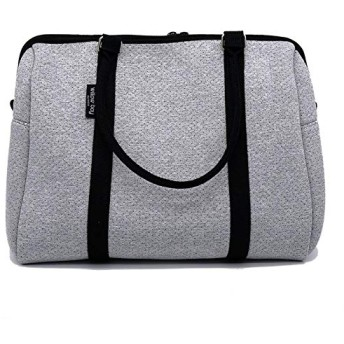 [Willow Bay] ダッフルバッグ ライトマレー ネオプレーン素材 ジムバッグ 2way マザーズバッグ (EXNPRESS DUFFEL Neoprene Bag LIGHT MARLE) [海外直送品]