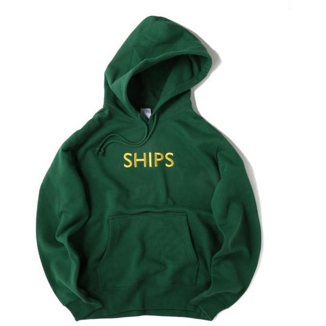 [マルイ] SU:【一部WEB限定カラー】SHIPSロゴ ビッグシルエット エンブロイダリー パーカー(トレーナ/シップス(メンズ)(SHIPS)
