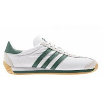 スニーカー アディダス adidas カントリーOG ホワイト/グリーン メンズ レディース シューズ 靴 19FW