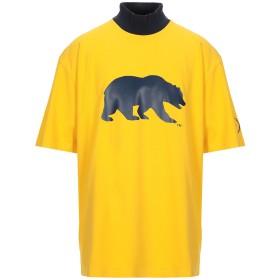 《期間限定セール開催中!》CALVIN KLEIN 205W39NYC メンズ T シャツ イエロー M コットン 100%