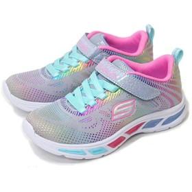 スケッチャーズ 光る靴 光る 女の子 ガールズ エスライツ LITEBEAMS 子供靴 10959L [GYMT×21.0cm]