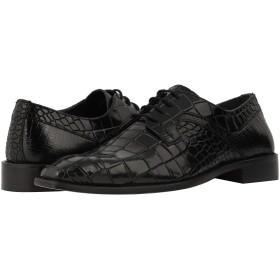 [ステイシーアダムス] メンズオックスフォード・ビジネスシューズ・靴 Triolo Croc Lizard Print Oxford Black 11.5 (29.5cm) D - Medium [並行輸入品]