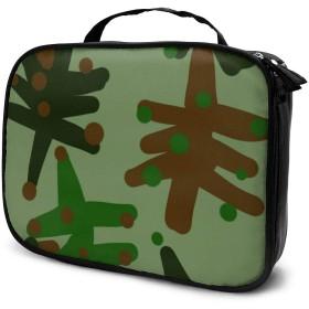 Jarvis SK カモフラージュ クリスマスツリー 化粧ポーチ トイレタリーバッグ トラベルポーチ 洗面用具入れ 大容量 機能的 防水 おしゃれ 出張 海外旅行の時小物 収納